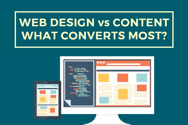 Design vs Content Post