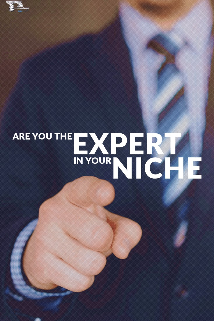 When you're an expert, you command respect in your niche. People listen to you, they pay attention to what you say and most of all they buy your products. via @scopedesign