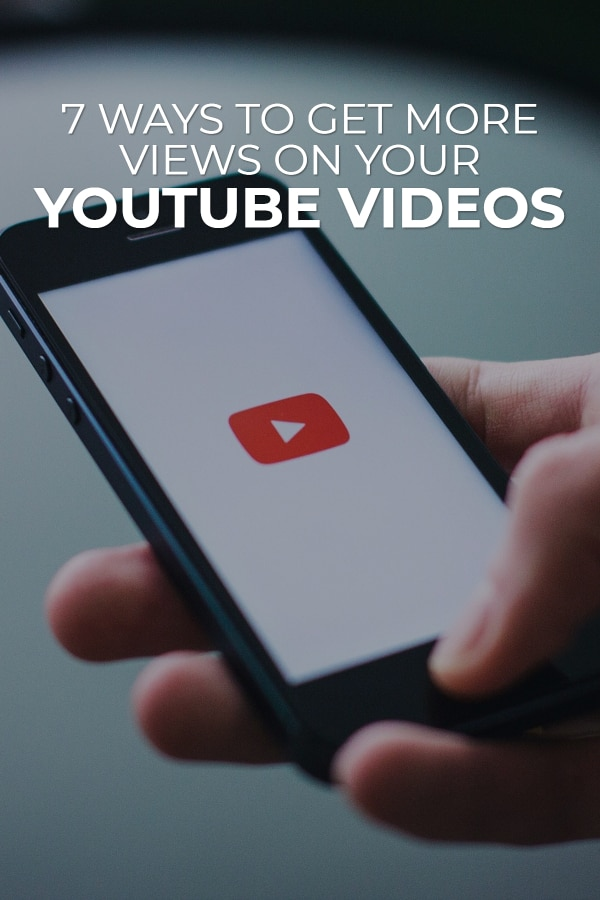 There's no sense in creating YouTube videos if no one is ever going to see them, right? Well, unless of course you just like seeing yourself on the screen. via @scopedesign