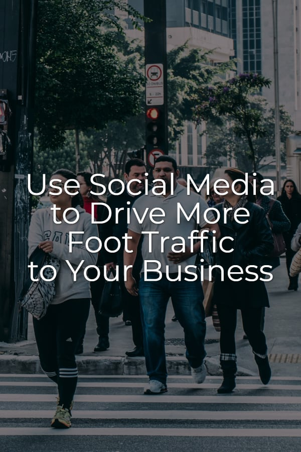 Foot traffic doesn't materialize out of nowhere but careful use of your social media can. Here's how. via @scopedesign