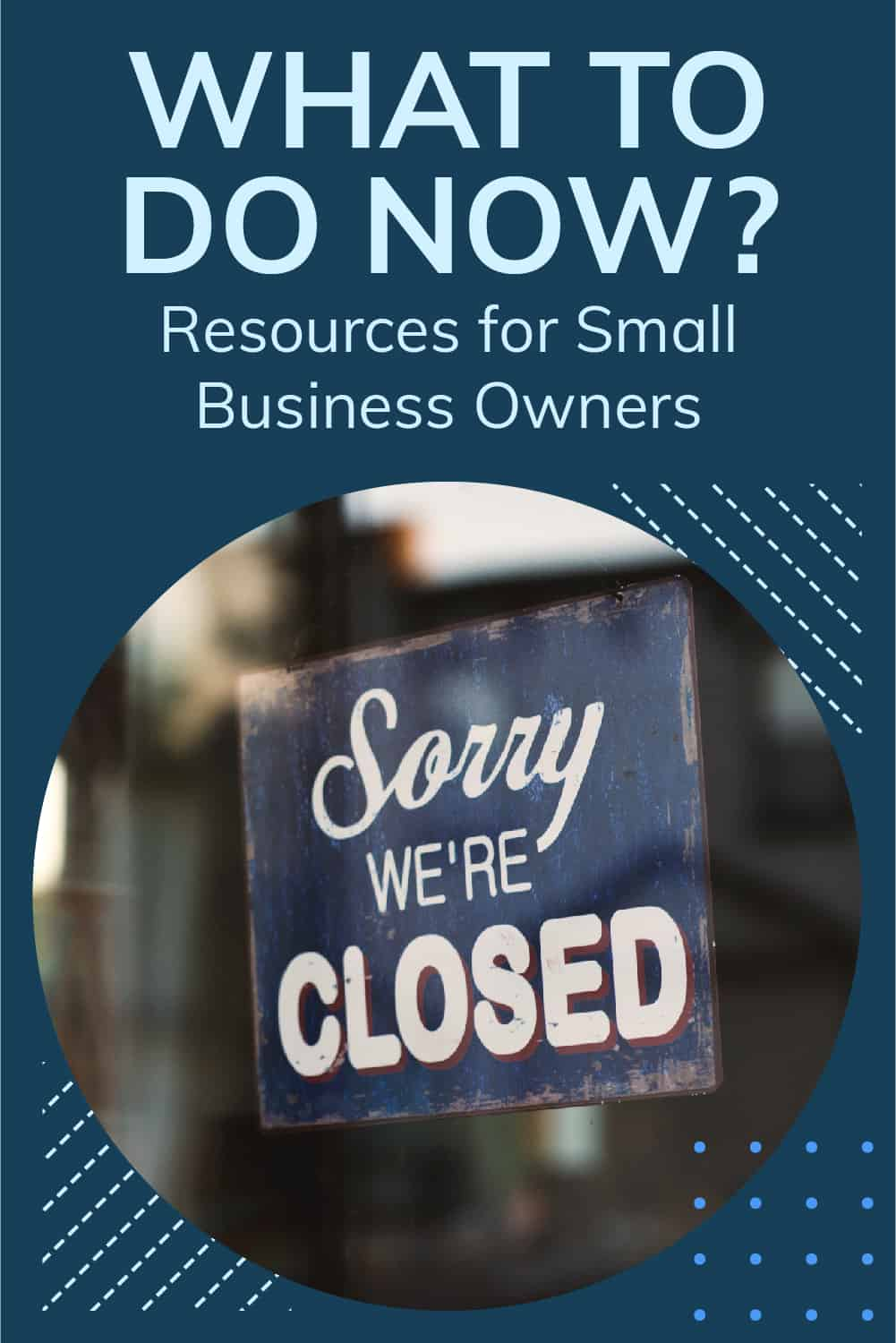 There are many resources available to help small business owners in this difficult time. Here are some resources and tools that may help you. via @scopedesign