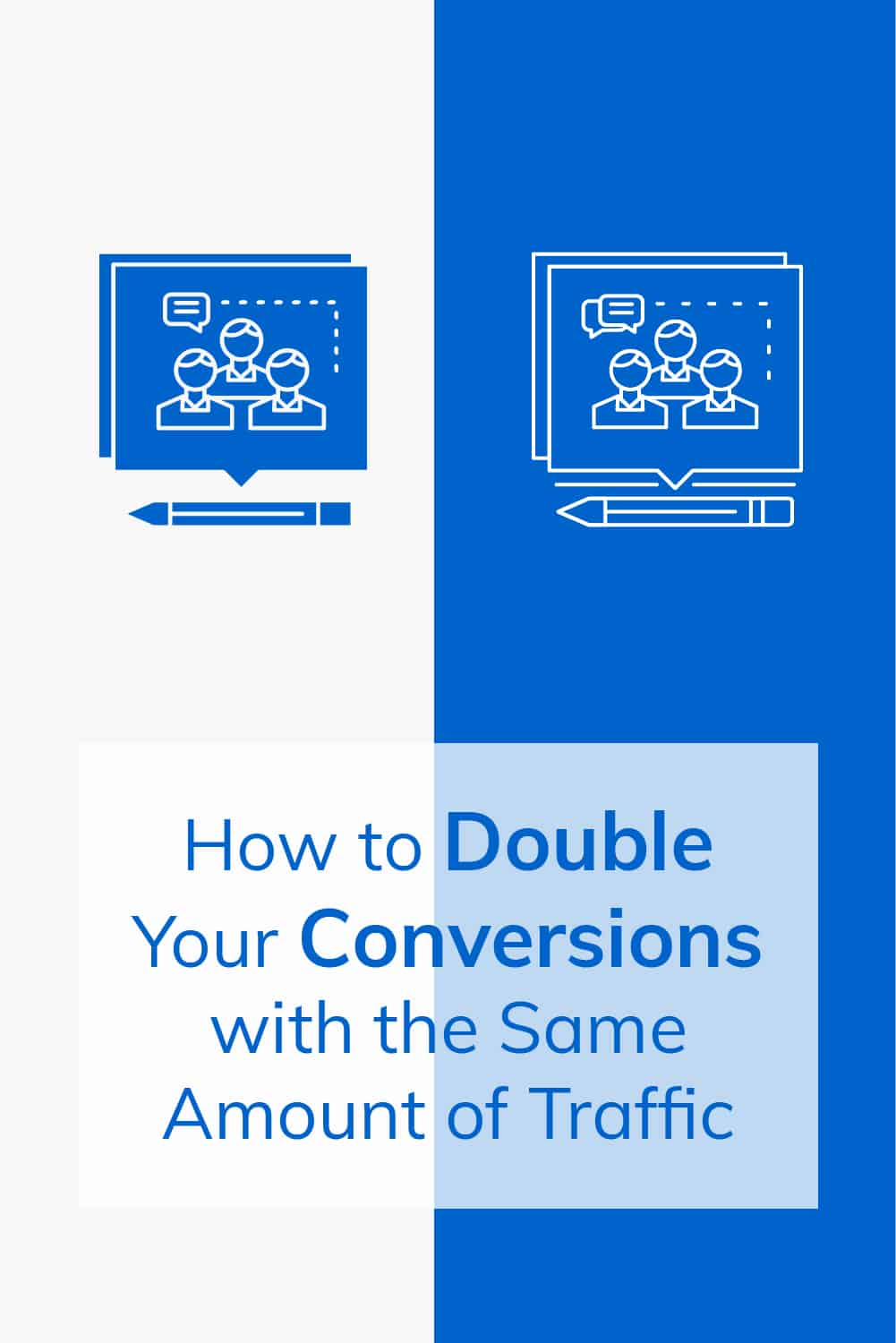 Traffic is important but it's not the amount of traffic you get that will determine the success of your business.Conversions are the name of the game! via @scopedesign
